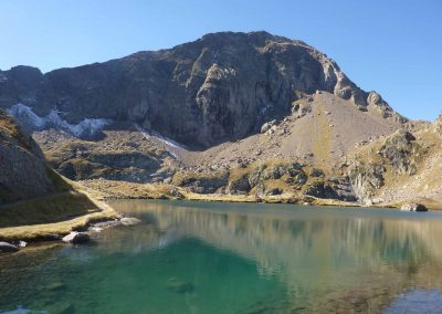 Lac de montagne, Camping Luchon Pyrénées