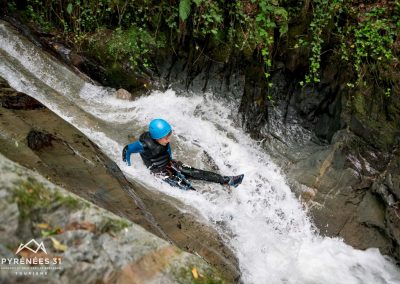Canyonning, Camping Luchon © AG Pyrenees 31